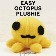 Free Plushie Patterns Custom Octopus Plushie Pattern Tutorial Easy Cute Jennifer Maker
