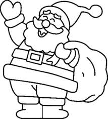 Free Santa Coloring Pages Audiczinfo