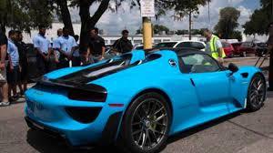 porsche 918 spyder blue. porsche 918 spyder blue u