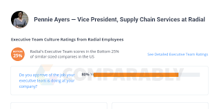 Pennie Ayers — Vice President, Supply Chain Services at Radial | Comparably