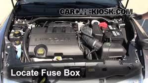2011 mkz fuse box wiring diagram for you • replace a fuse 2009 2016 lincoln mks 2011 lincoln mks 3 7l v6 rh carcarekiosk com 2010 mkz 2011 lincoln mkz fuse box diagram