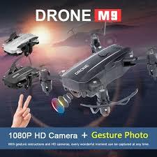 NEW Professional <b>M9 Mini Folding</b> Quadcopter Drone 1080P ...