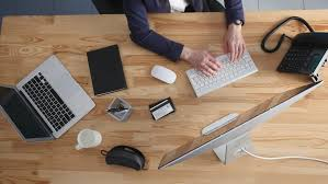 Office Desk Top A Businessman Office Desk Top Nongzico