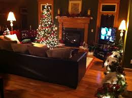 trend decoration christmas dinner table ideas frugal how to decorate your home for without a tree
