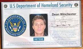 ' 'dean Dean Aka Id Of Department U Fake Winchester Another s xYwq4SCn