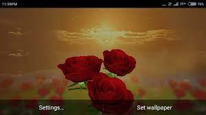 Rose 3D Magic Live WallPaper APK 1.3 ...