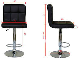 bar stool office chair. Unique Chair Bar Chair Office Stool Leather AdjustableBlack In C