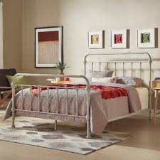 King Wrought Iron Bed Frame | Wayfair