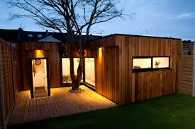 garden office designs. Designed To Preserve The Existing Acer Tree Garden Office Designs N