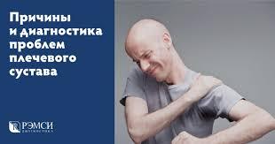 Боли в плечевом суставе: причины, симптомы и диагностика