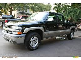 2002 Chevrolet Silverado 1500 LS Extended Cab 4x4 in Onyx Black ...