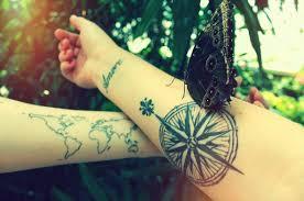 The Coolest Travel Tattoos   Wanderlust Inspired Tats ★ via Relatably.com