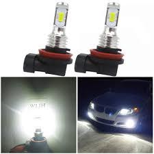 Saab 9 3 Fog Light Bulb Replacement Amazon Com Wljh Bright H11 Led Fog Lights Bulb Newest
