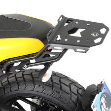 hepco becker 660 7530 01 01 rear minirack for ducati scrambler