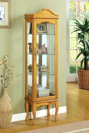 used curio cabinet for half round china cabinet lighted curio cabinet curved glass curio cabinet used curio cabinet with light
