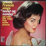 Sings Never on Sunday and Other Title Songs from Motion Pictures album by Connie Francis
