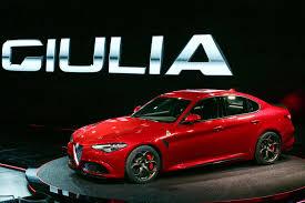 Alfa Romeo Giulia Quadrifoglio breaks cover