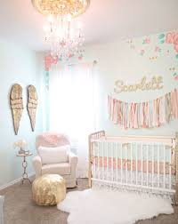 Pink and turquoise nursery designed by Caden Lane (via House of Turquoise).
