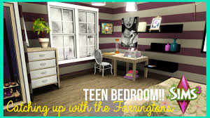 Sims 3 Bedroom The Sims 3 Teen Bedroom Catching Up With The Farringtons Youtube