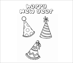 New Year Hat Template Free doc 1050800 party hat template give your octopus a paintbrush on research memorandum template
