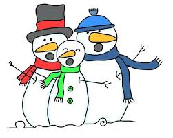 Image result for singing snowman clipart