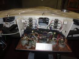 1963 jaguar series 1 xke fhc restoration part 29f 58 the dash wiring takes some patience and a good wiring diagram over the years the colors fade to white on the original cloth wires leaving just a hint
