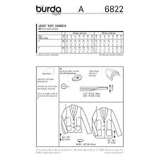 Burda Style Jackets 6822