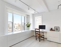 Light Hardwood Floors Home Office Workspace Inspiration With White Walls Light Hardwood