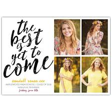Yet To Come Photo Graduation Invitations Paperstyle