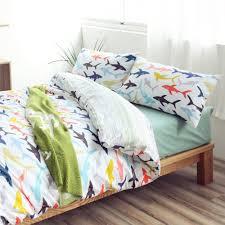 fullsize of exciting beyond beyond shark navigator unicorn bedding sets land nod bedding boys shark bedding