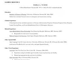 Lpn Resume Examples Lpn Resume Sample Without Experience Free Of Template Summary 100