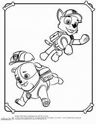 nick jr coloring pages paw patrol