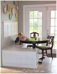wonderful built in kitchen banquette 10 remodelaholic renovation seating 133380