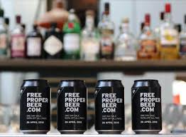 Vending Machine Beer Impressive Free Beer Vending Machine In London Will Give You A Pint