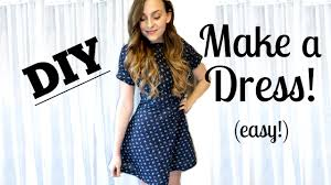 Design And Sew Your Own Clothes How To Sew A Dress From Scratch Easy Jessica Shaw