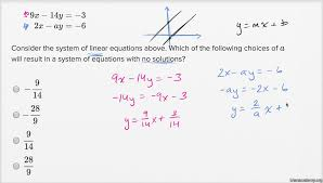 solving systems of linear equations harder example khan academy