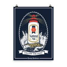 Natty Light Visor Natty Light House