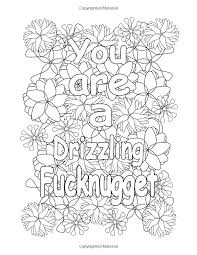 Free Printable Swear Coloring Pages Free Printable Swear Word