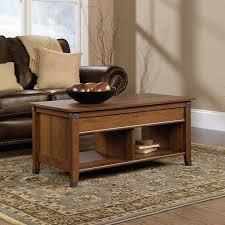 amazoncom sauder carson forge lifttop coffee table washington