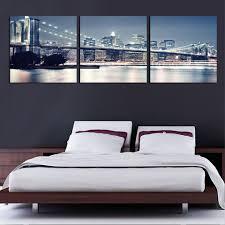 New York Skyline Wallpaper For Bedroom Online Get Cheap Brooklyn Bridge Mirror Aliexpresscom Alibaba