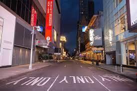 New York City as coronavirus lockdown looms