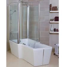 phoenix poseidon freestanding whirlpool bath and shower enclosure 1800 x 1000 x 430mm