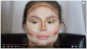 contouring highlighting kim kardashian s makeup secret