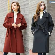 korean style winter coat size in maroon women s fashion clothes outerwear on carou