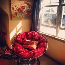 Papasan Chair In Living Room Furniture Enchanting Light Oak Wood Pier Papasan Chair And Tufted