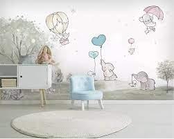 Beibehang Custom Mural Cute cartoon ...
