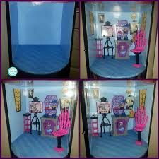 Monster High Bedroom Decorations Rias World Of Ideas Trash To Treasure Monster High Doll House