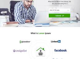 Work From Home Network Web Design Layout Photoshop By UI UX Designer Interesting Work From Home Web Design