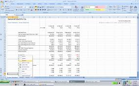 excel income statement famous financial modeling wiki company research importing