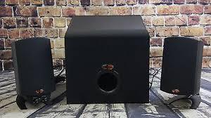 klipsch promedia 2 1 thx. klipsch promedia 2.1 thx speaker system -black 2 1